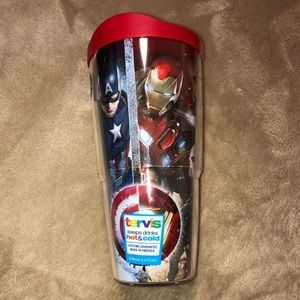 Captain America civil war tumbler